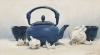 Japanese Teapot and Garlic